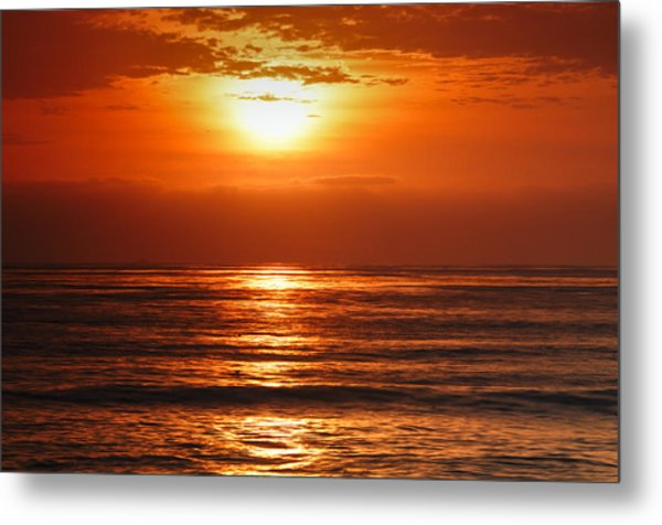 Pacific Sunset @ Point Loma Metal Print