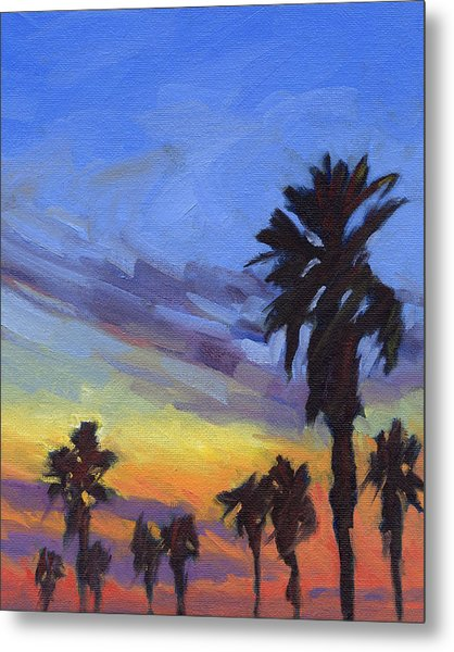 Pacific Sunset 2 Metal Print