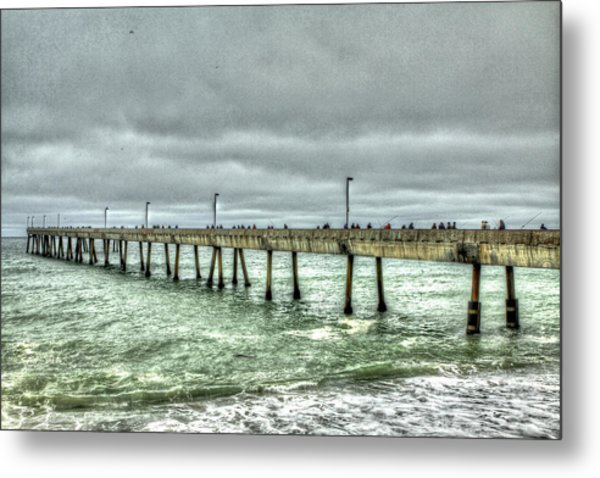 Pacifica Municipal Fishing Pier 7 Metal Print
