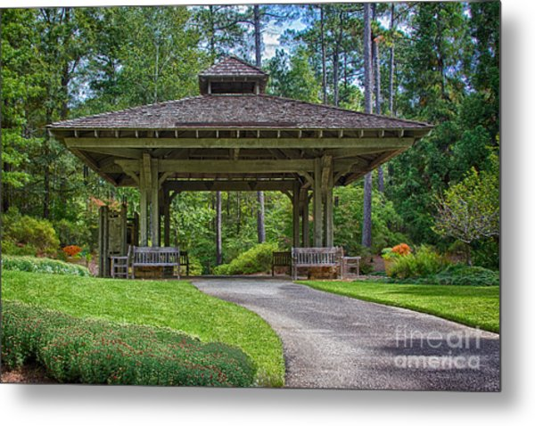Pagoda Metal Print by Heather Roper