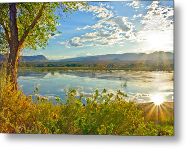 Pahranagat National Wildlife Refuge Metal Print