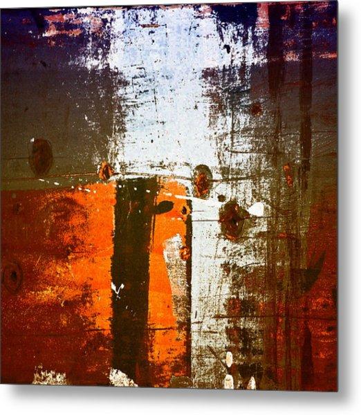 Paint Bi Color 1 Metal Print