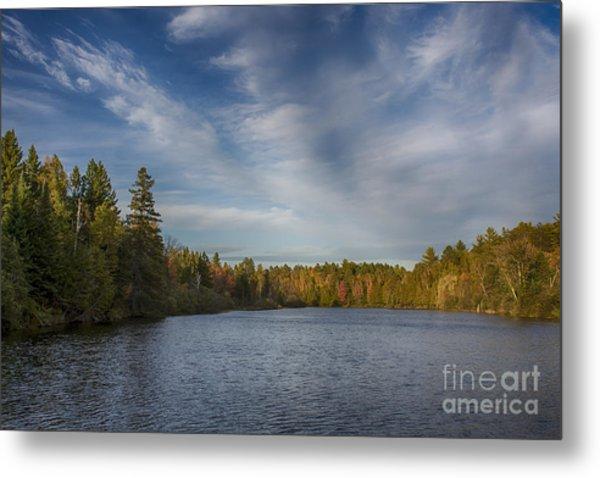 Paint River - Autumn Metal Print