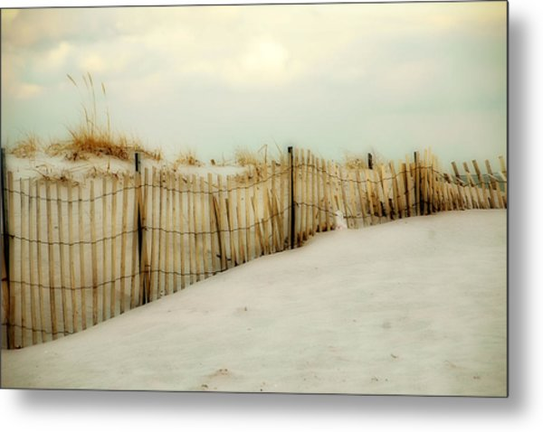 Painted Beach Metal Print