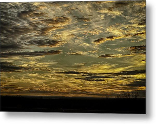 Painted By The Hand Of God Metal Print