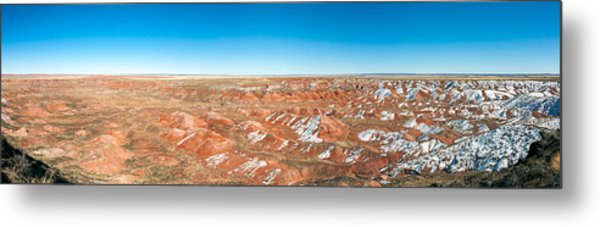 Painted Desert, Petrified Forest Metal Print