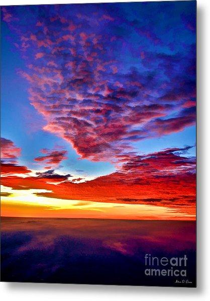Painted Heavens Metal Print