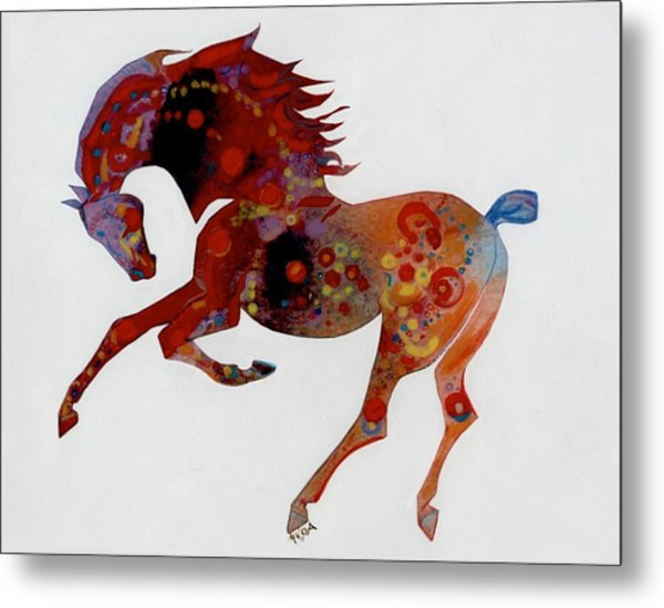 Painted Horse A Metal Print