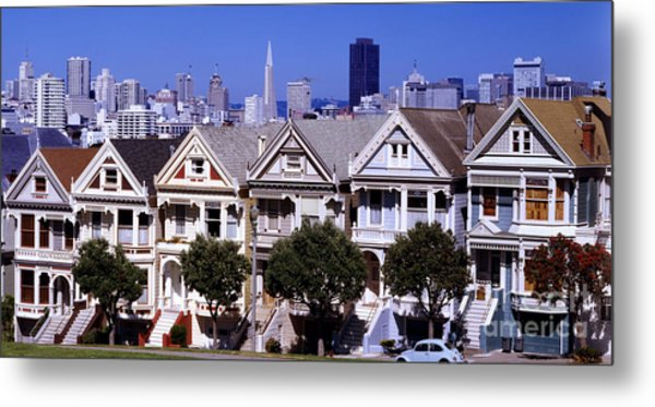 Painted Ladies Metal Print by Ron Smith