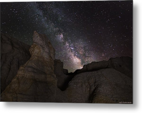 Painted Night Metal Print
