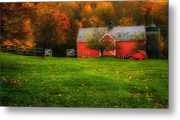 Autumn Dreams - Dorset Vermont Metal Print