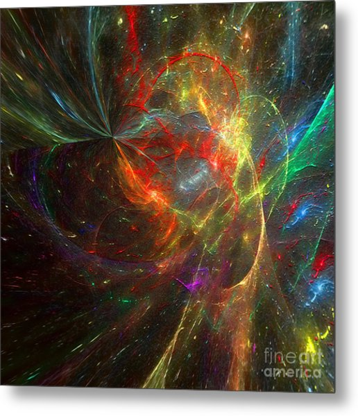 Painting The Heavens  Metal Print