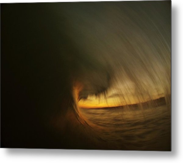 Painting With Light Metal Print by Daniel Rainey