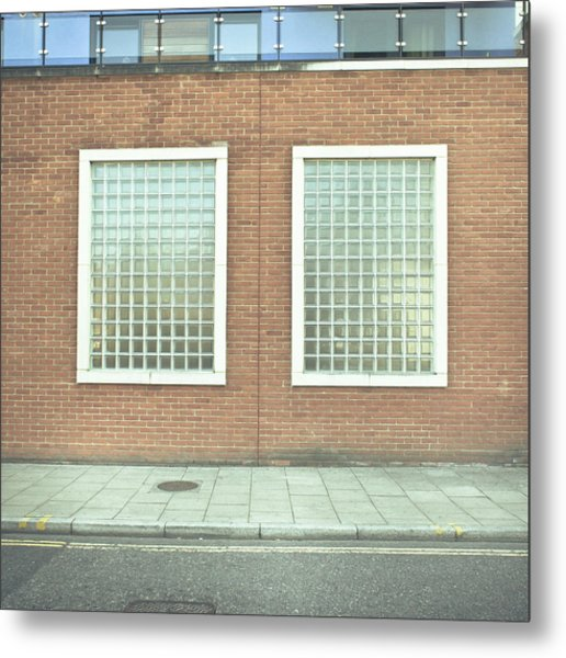Pair Of Windows Metal Print