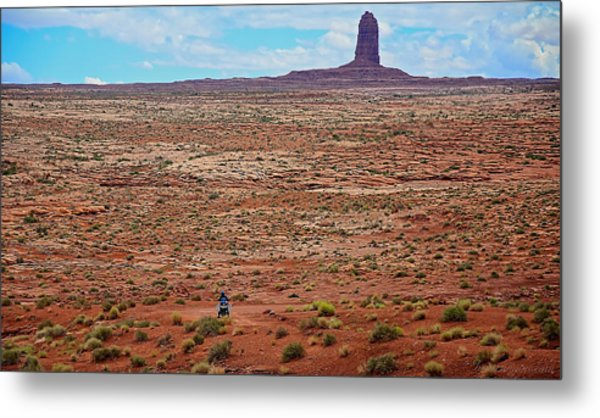 Paiute Road Metal Print