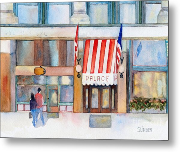Palace Hotel Metal Print by Sandy Linden