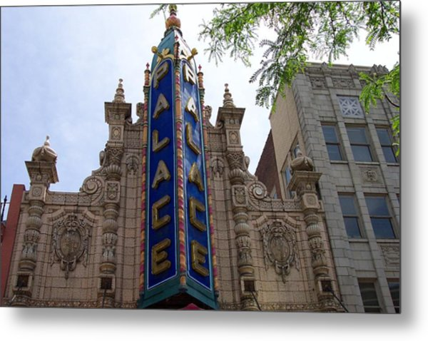 Palace Theater Metal Print by Pamela Schreckengost