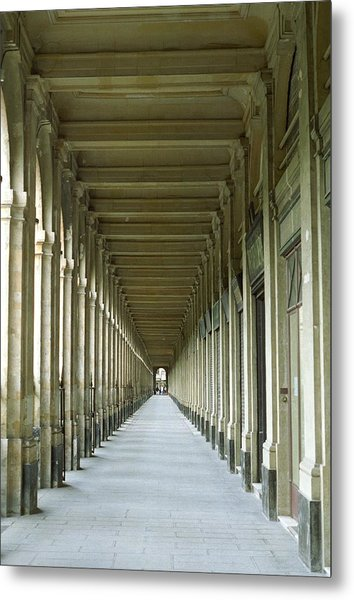 Metal Print featuring the photograph Palais Royale by Susie Rieple