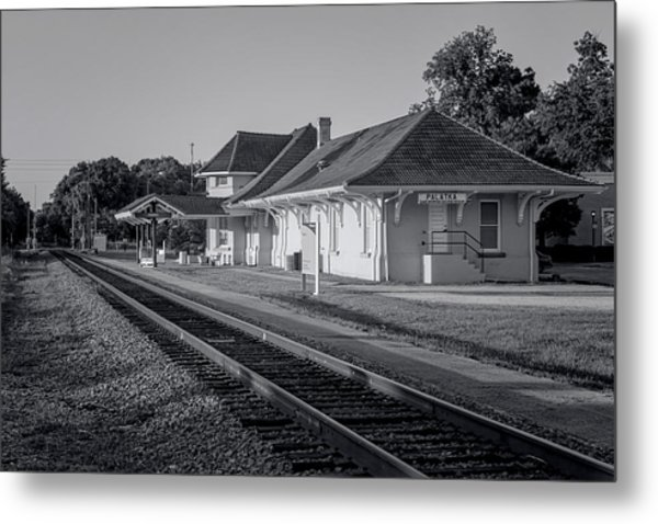 Palatka Train Station Metal Print