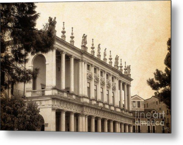 Palazzo Chiericati Metal Print