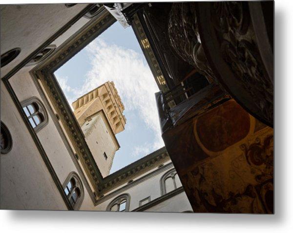 Palazzo Vecchio Metal Print