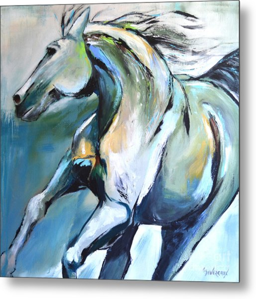 Pale Horse Metal Print