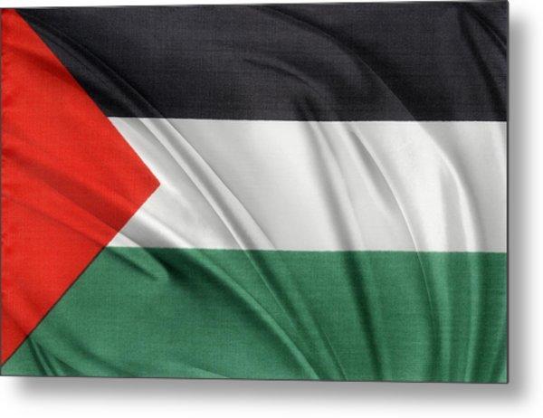 Palestine Flag Metal Print