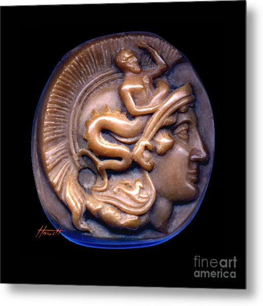 Pallas Athene Metal Print by Patricia Howitt