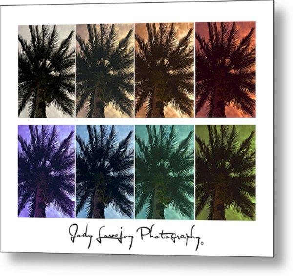 Palm Shades Metal Print