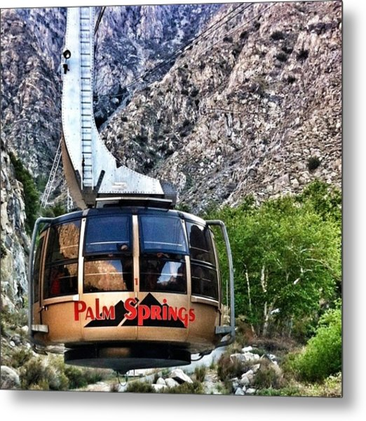 Palm Springs Tram 2 Metal Print