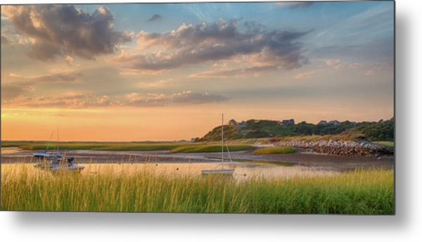 Pamet Harbor In Afternoon Metal Print