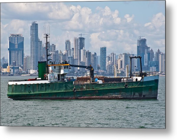 Panama Cityscape Metal Print