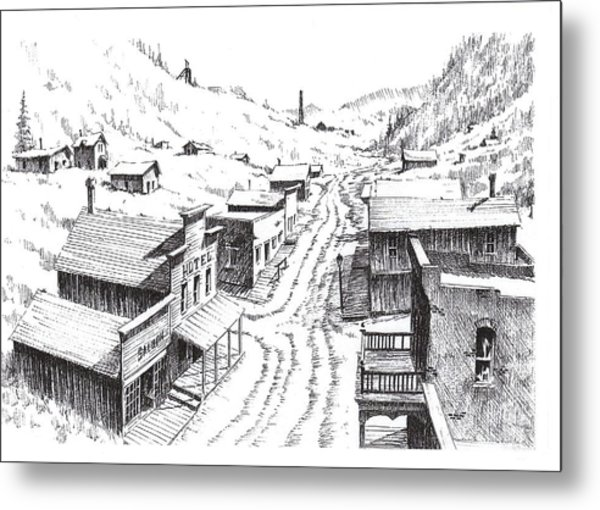 Panamint City Ghost Town California Drawing By Kevin Heaney