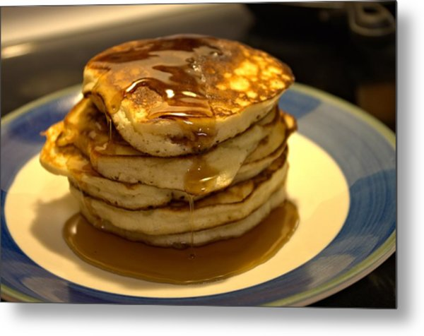 Pancakes For Breakfast Metal Print