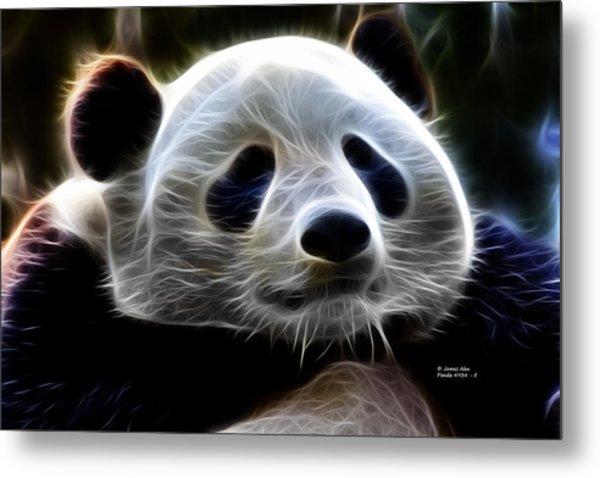 Panda - 4934 - F Metal Print by James Ahn