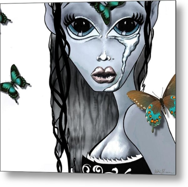 Pandora  Metal Print