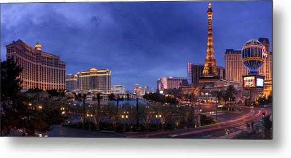 Panorama Of Las Vegas Metal Print
