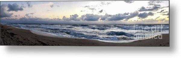 Panoramic Seascape South Florida Metal Print