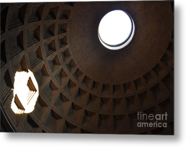 Pantheon Dome Metal Print by Katie Fitzgerald