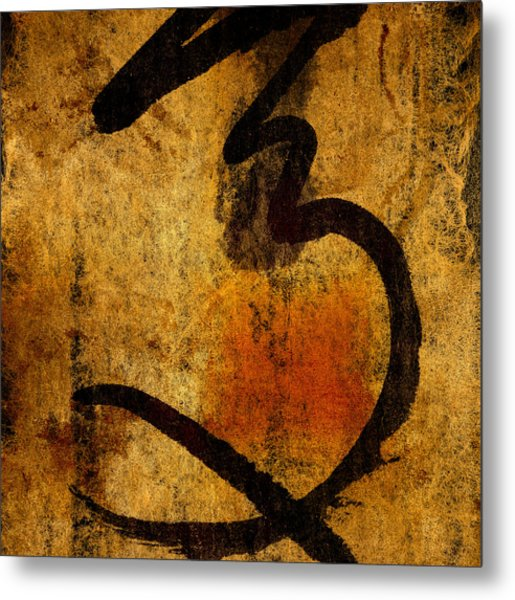 Paper Ink And Cement Metal Print