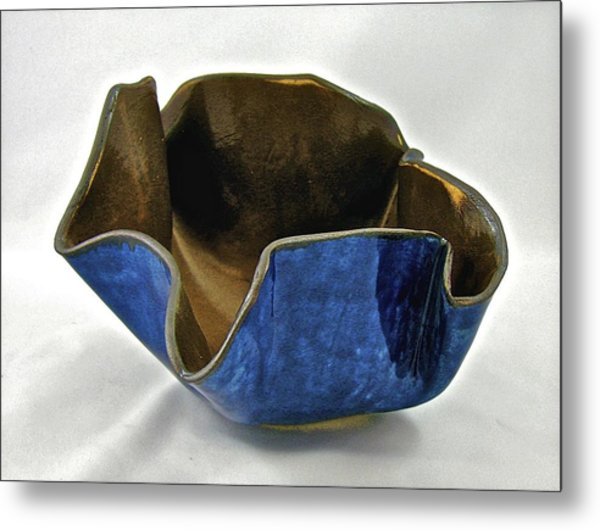 Paper-thin Bowl  09-005 Metal Print