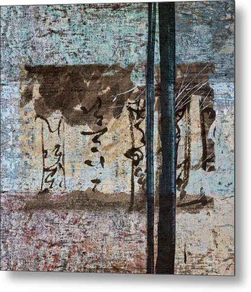 Papers And Inks Metal Print