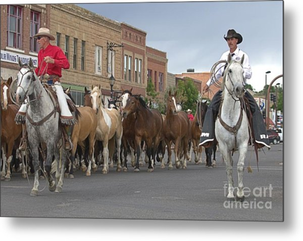Parade Day Metal Print