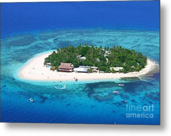 Paradise Island In South Sea IIi Metal Print by Lars Ruecker