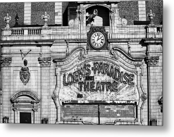 Paradise Movie Theatre Metal Print