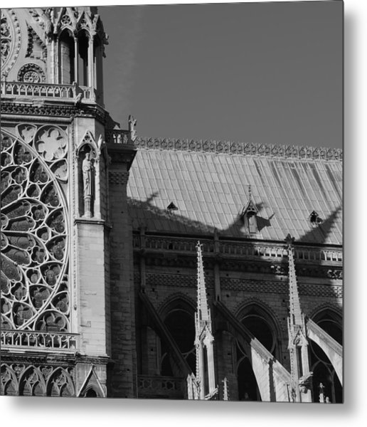 Paris Ornate Building Metal Print