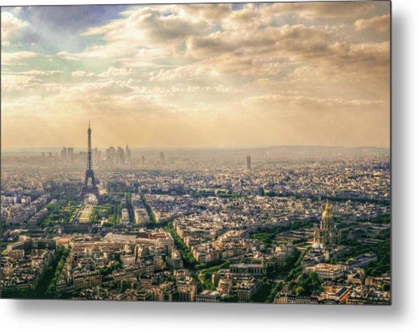 Paris, France Metal Print by Mohamed Kazzaz