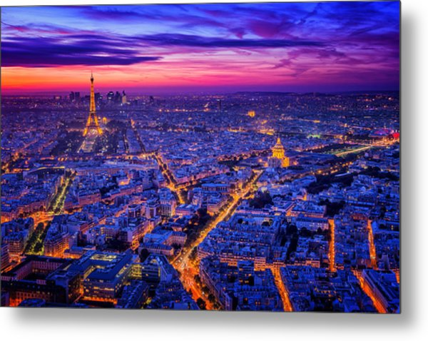 Paris I Metal Print by Juan Pablo De