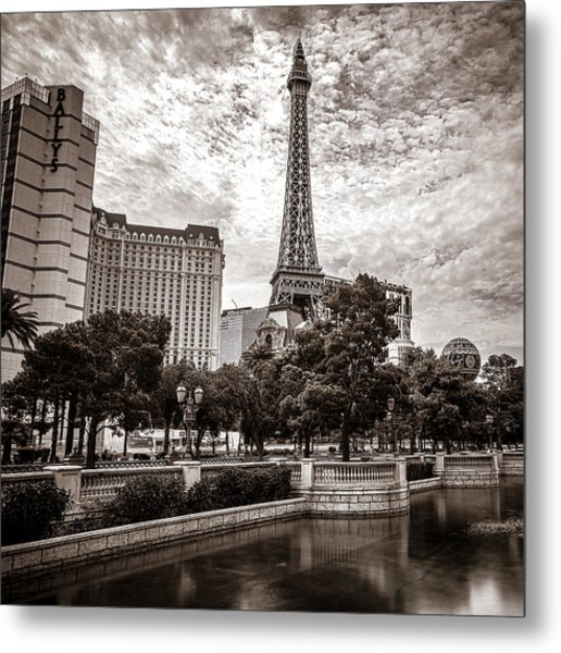 Paris Las Vegas Metal Print