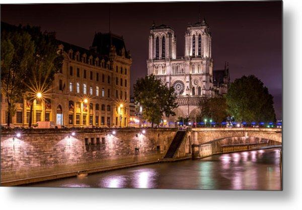 Paris Notre Dame Metal Print by Tomas Horvat